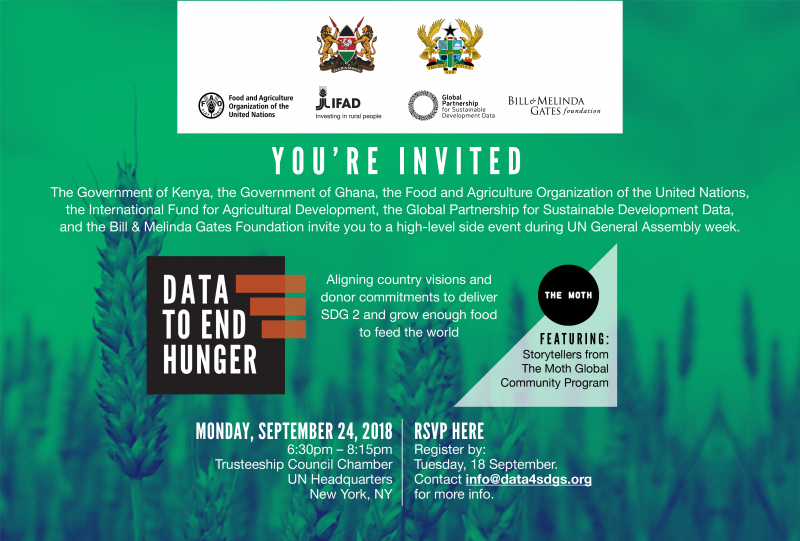 Data to end hunger